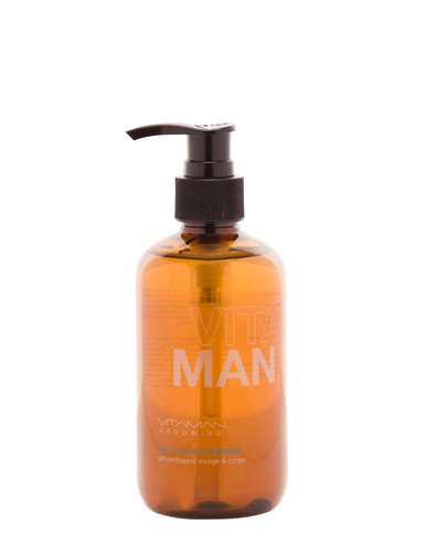 Mencare Store | Vitaman Face & Body Cleanser with Organic Lemon Myrtle